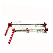 TOKEN TK235 RED HUB QR SKEWER 116MM , 152MM TI AXLE MTB BIKE