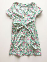 New Womens Rampant Sporting By Joules Floral Tea Dress Size 16 (H)