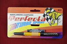 Vintage Perfecta Turbo Sprint Fountain Pen NOS Simile Mont Blanc Carrera (14080)