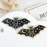 Creature The Night Bat Enamel Pin Badge Goth Friend Jewelry Art Lapel Pin Gift
