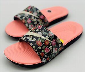 NEW Nike Kawa Vintage Floral Slides BV1226-001 GS Size 6Y Women's Size 7.5