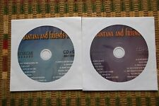 2 CDG KARAOKE DISCS SANTANA GREATEST HITS CLASSIC ROCK,SPANIS,BLACK MAGIC WOMAN