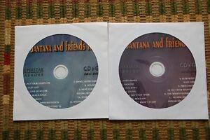 2 CDG KARAOKE DISCS SANTANA GREATEST HITS CLASSIC ROCK,SPANIS CD+G ROCK OLDIES