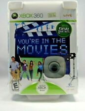 You're in the Movies (Microsoft Xbox 360, 2008) with Camera