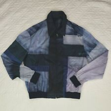 Brioni Mens Blue Lightweight Jacket Full Zip Size M