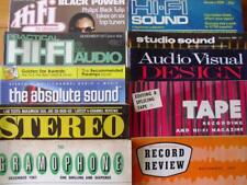 VINTAGE HI-FI & AUDIO MAGAZINES ~ Audiophile / Review / Stereophile / Answers