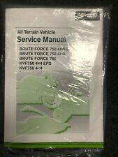 Kawasaki Brute Force�] 750 Service Manual-Fits 2012 - 2021-Genuine Kawasaki-New (Fits: Kawasaki)
