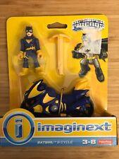 IMAGINEXT Batgirl Bat Girl Cycle Bike Batman Dc Super Friends Set New In Box