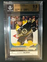2017-18 Upper Deck Charlie McAvoy Young Guns Rookie BGS 9.5