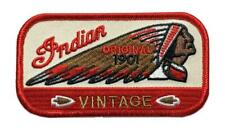 INDIAN Motorcycle Warbonnet 1901 PATCH [iron on sew on-4.0 INCH -IN8]