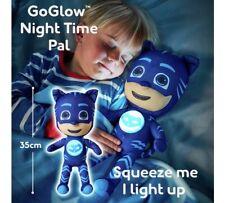 DISNEY PJ MASK CAT BOY GO GLOW PAL PLUSH TOY XMAS KIDS GIFT 2 IN 1 NIGHT LIGHT