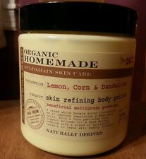 Greenscape Organic Lemon, Corn & Dandelion Skin Refining Body Polish 17 Oz.