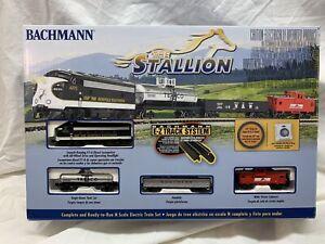 N SCALE THE STALLION TRAIN SET BACHMANN IN ORIGINAL BOX # 24025