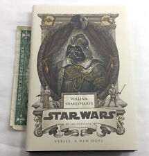 WILLIAM SHAKESPEARE'S STAR WARS IAN DOESCHER HARDCOVER 2013 1ST PRINT HCDJ VGC