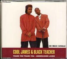 COOL James & BLACK Teacher-THANK YOU 4 TRK CD MAXI 1993