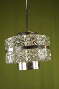 60er Vintage Ceiling Light Lamp Kinkeldey Era Hanging Lamp 70er