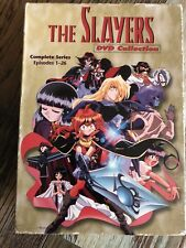 The Slayers First Season DVD Collection Software Sculptors USA Anime