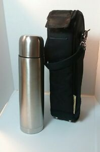 Picnic at Ascot Unisex  Stylish Coffee Tote with Thermal Flask Golf Classic.