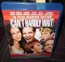 CAN'T HARDLY WAIT 10 YEAR REUNION EDITION BLU-RAY MOVIE, RARE, OOP IN EUC
