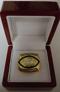 Joe Namath - 1968 New York Jets Custom Super Bowl Ring WITH Wooden Box