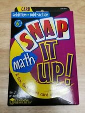 Learning Resources LER3044 Snap It up Card Games Addition/subtraction
