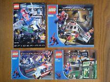 [NOTICES UNIQUEMENT] Lot de notices Lego Spider-man (de l'ancienne gamme)