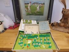 Subbuteo club Edition Table Cricket with vintage metal figure set with extras