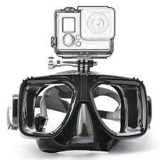 Pro Diving Glasses Scuba Mask Swim Goggles Mount For Camera Go Pro Hero 2 3 4
