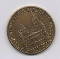 Medaille Bronze 1974 Eccles Cathedralis Treve Rensis Renovata 20 Gramm