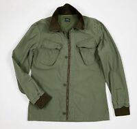 G star marshall jacket uomo usato XL verde giacca leggera giubbino vintage T5488