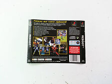 Jaquette Arriere/Back Cover Reboot Sony Playstation 1 PS1 FR