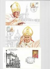Pope John Paul Covers & Cards - Portugal & Dominican Republic