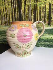 English Ceramic Vase With Floral Pattern,1940s Kensington ware vase, table decor