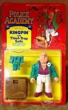 1989 Kenner Police Academy Kingpin with Thief-Trap Safe Action Figure MOC