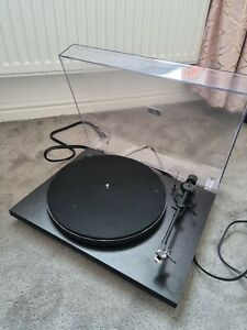 Pro-Ject Primary E Hi-Fi Stereo Turntable - Matt Black record player
