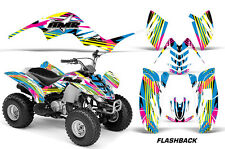 AMR Racing Yamaha Raptor 80 Graphic Kit Wrap ATV Quad Decals 2002-2008 FLASHBACK