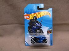 HOT WHEELS 2019 #58 BLUE DUCATI 1199 PANIGALE CROTCH ROCKET MOTORCYCLE RACER