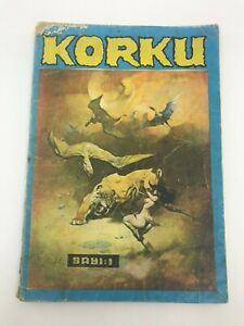 KORKU (HORROR) #1 - Foreign Comic Book - 1980s 80s - First Issue - MEGA RARE