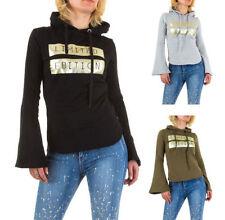 Herbst Damen-Pullover & -Strickware mit Kapuze