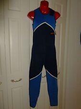 NEW.BARE.Watersports.Blue.JOHN.Wetsuit.XS.Ultra Light.Sleeveless.Bodysuit. $98