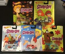 Hot Wheels Pop Culture Scooby-Doo Set Of 5 ,T1 Panel ,Mystery Machine, In Stock!
