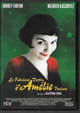 DVD ZONE 2--LE FABULEUX DESTIN D'AMELIE POULAIN--JEUNET/TAUTOU/KASSOVITZ