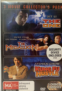 The One, The Medallion, Kung Fu Hustle - 3 disc set - R4 - MA15+ - Free Postage