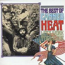 Canned Heat : Let's Work Together: (THE BEST OF CANNED HEAT) CD (1989)