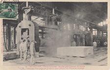 LE CREUSOT 22 usines schneider plus gros laminoir du monde timbrée 1908