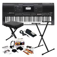 Yamaha PSR-E463 Portable Keyboard HOME ESSENTIALS BUNDLE