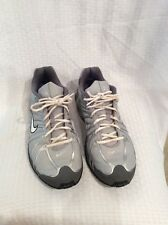 EUC Nike Air Max Mens Boys Athletic Shoes Size 12 Color Grey/white