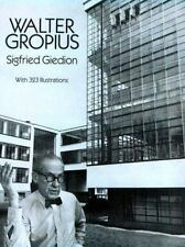 Walter Gropius (Dover Books on Architecture), Giedion, Siegfried, Good Book