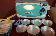 Easy Bake Oven Teal & White With Accessories