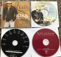 Lot Of 4 Alan Jackson Country Music CDs Audio What I Do High Mileage